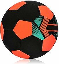 com-four® Neopren-Strandball, wasserabweisender