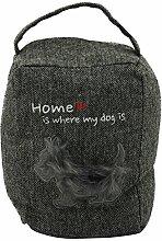 com-four® Türstopper für Hundeliebhaber mit
