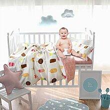 Comaie 3Stück Quilt Bettbezug und Kissenbezug