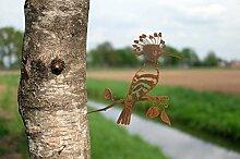 Combini rostige Gartendeko für den Baum,