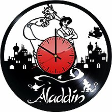 Come n' Get Aladdin Disney Wanduhr aus Vinyl,