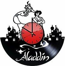 Come n' Get Aladdin Genie Disney Wanduhr aus
