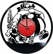 Come n' Get Asterix and Obelix Wanduhr aus
