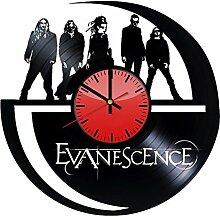 Come n' Get Evanescence Wanduhr aus Vinyl,