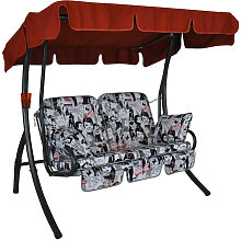 Comfort-Balkon-Schaukel (2-Sitzer) Design Audrey