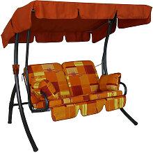 Comfort-Balkon-Schaukel (2-Sitzer) Design Toledo