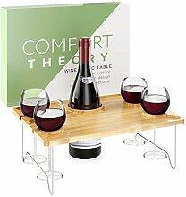 Comfort Theory Wein-Picknicktisch für romantische