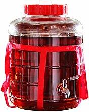 COMO Getränkespender aus Glas mit automatischer