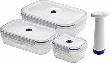 Compactor ACC922 Set aus 3 Lebensmittel-Boxen