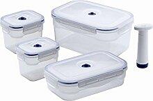 Compactor ACC926 Set aus 4 Lebensmittel-Boxen