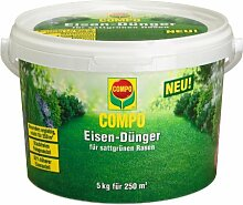 Compo 1287988004 Eisen-Dünger, 5 kg für 250 qm