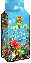 Compo 22202 Sana Qualitäts Blumenerde 50% weniger