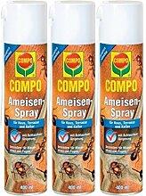COMPO Ameisen-Spray 3 x 400 ml