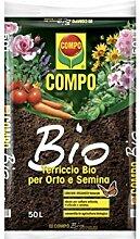 Compo Blumenerde Bio 50 Liter