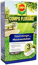 COMPO FLORANID Rasendünger mit Moosvernichter, 3