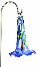 Compo Glockenblüte aus Glas, blau, 30 cm