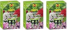 COMPO GmbH 3x Compo Duaxo Rosen Pilz-frei 130 ml
