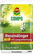 Compo Rasendünger mit Langzeitwirkung 20 kg für