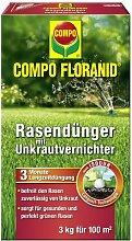 Compo Rasendünger mit Unkrautvernichter - 3kg