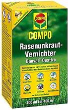 Compo Rasenunkraut-Vernichter Banvel Quattro 400