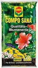 Compo Sana 20 Liter Qualitäts-Blumenerde für