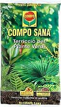 Compo Sana Blumenerde für Grünpflanzen Beutel