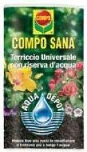 Compo Sana Blumenerde universal mit Reserve Wasser