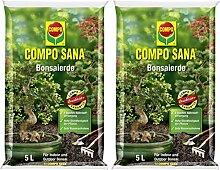 Compo Sana Bonsaierde mit 8 Wochen Dünger für