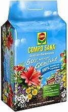 Compo SANA Qualitäts-Blumenerde ca. 50% weniger