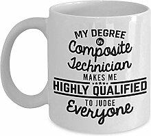 Composite Techniker Kaffeebecher Lustig 11 Unzen