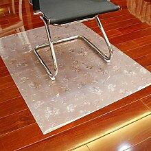 Computer-stuhl-matte soft glass protector mat computer chair protector mat kissen buch tisch und stuhl mat-M 90x180cm(35x71inch)