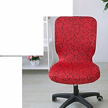 Computer Stuhl Sitzbezüge/ Drehstuhl/Stretch Stuhlabdeckung-B