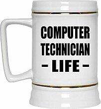 Computer Technician Life - Beer Stein Bierkrug