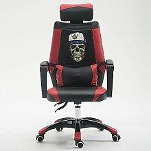 Computerstuhl, ergonomischer Stuhl mit