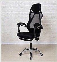 Computerstuhl, Gaming-Stuhl, einfacher Bürostuhl,