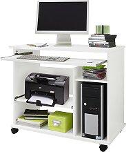 Computertisch Compi B/H/T: 72 cm x 76 46 weiß