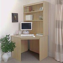 Computertisch Ebern Designs Farbe: Buche