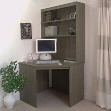 Computertisch Ebern Designs Farbe: Englische Eiche