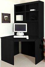 Computertisch Ebern Designs Farbe: Schwarzes