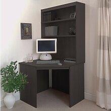 Computertisch Ebern Designs Farbe: Walnuss