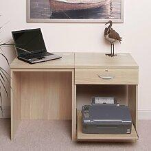 Computertisch Walshaw Ebern Designs Farbe: Buche