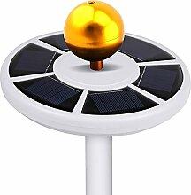 Comtervi 26LEDs Solar Flagpole Light/Solar