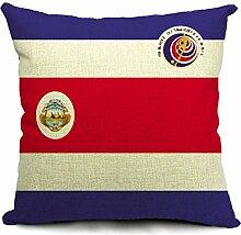 COMVIP Wohnung Zimmer Dekoration Mit Flag Druck Sofakissenbezug Kissenbezüge kissenhüllen Zierkissenbezüge Flag # 016