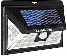Comwinn 24-LED-Solarlicht für den Außenbereich