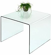 Concept Glas (86) Beistelltisch Glastisch