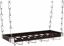 Concept Housewares WR-44528 Massivholz Deckenregal
