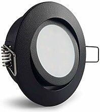 Conceptrun LED Einbaustrahler schwenkbar rund