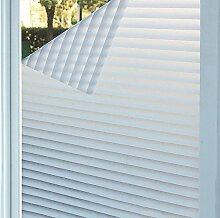 Concus-T Fensterfolie Selbstklebend Sichtschutzfolie Dekorfolie Statische Folie Sonnenschutz Fensterladen Design 90x200cm