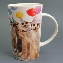Conga - Erdmännchen - Mug - Becher - Latte