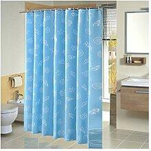 Coniea Badvorhang Fenster Meer Duschvorhang Anti